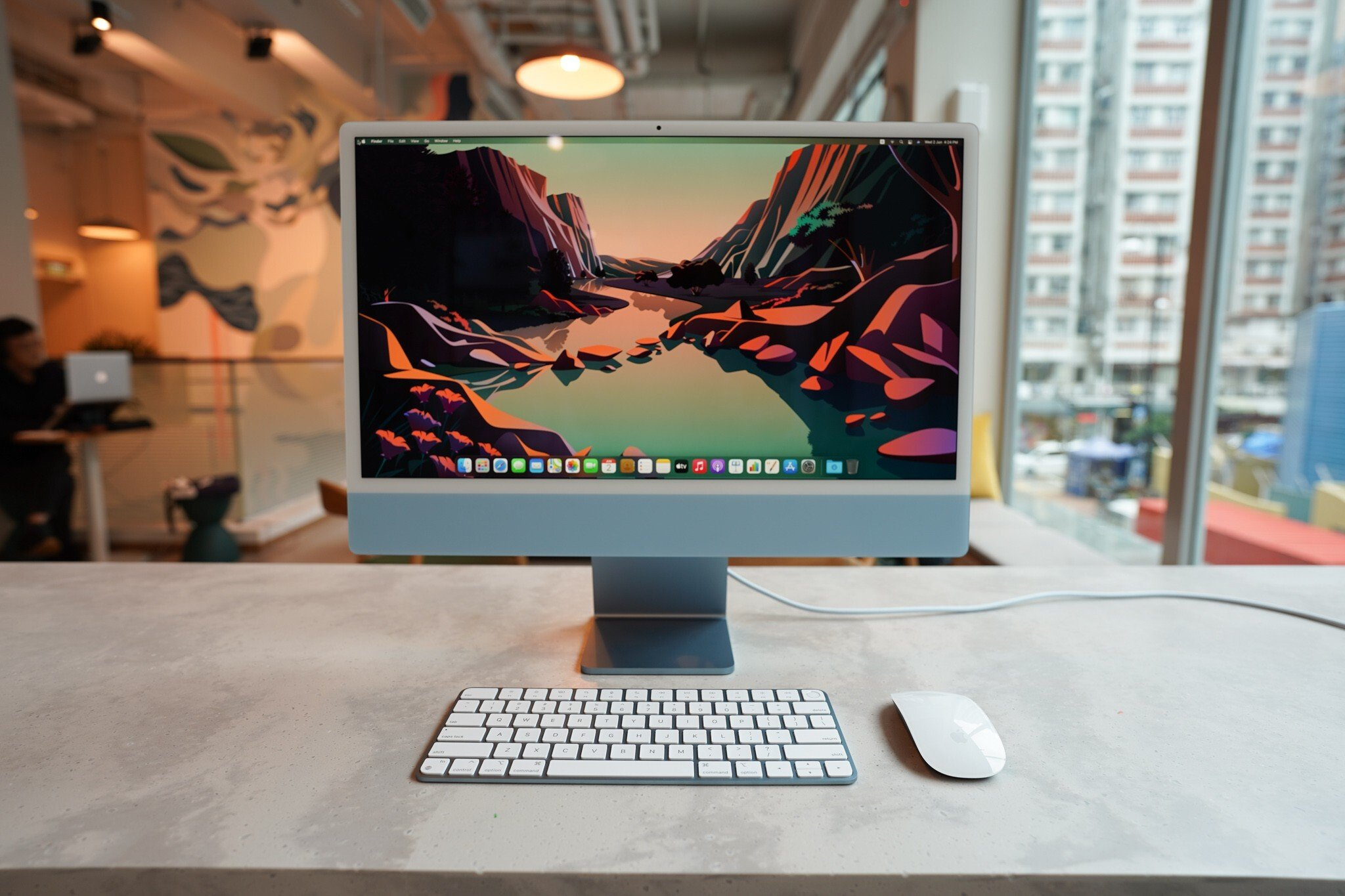 Review of New iMac M1 2021 3