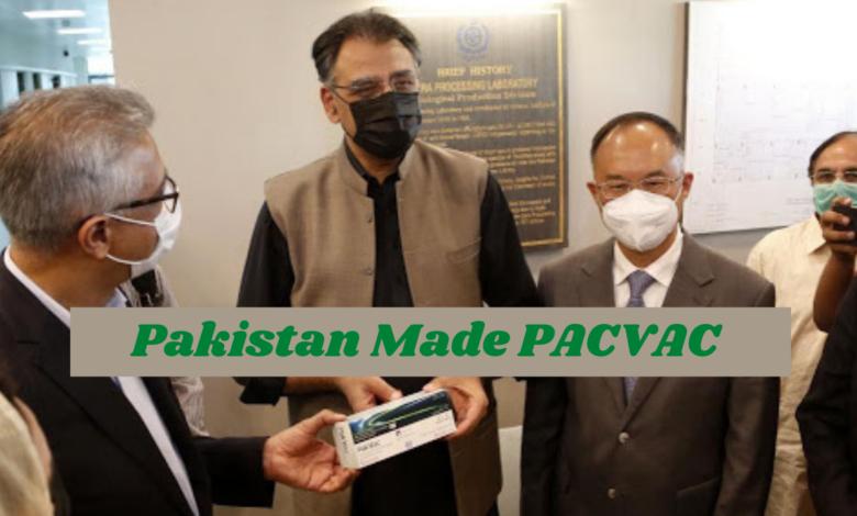 """PacVac"" Pakistan Made Covid Vaccine"