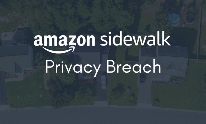 Amazon New Feature Sidewalk Raises Privacy Issue