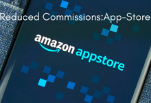 Reduced Commissions on Amazon App-Store for Smaller Businesses