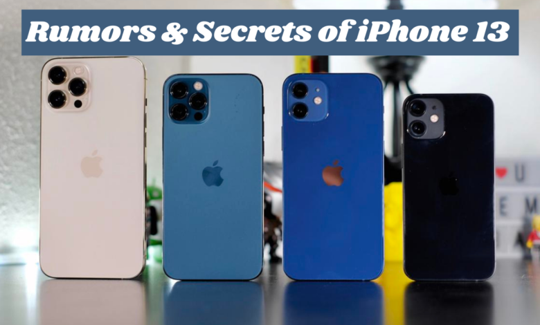 a list of rumors of iPhone 13 that we know.