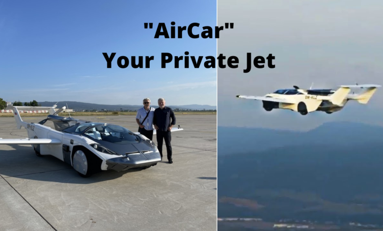 AirCar the Flying Car is now your personal private jet title