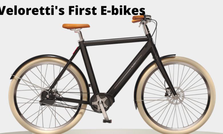 Veloretti first E bikes are gorgeous title