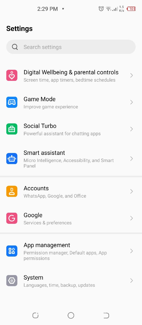 Connected to Wi-Fi but no internet Android device
