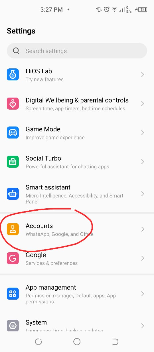 Google Play store authentication is required error
