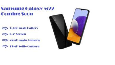 Samsung Galaxy M22 Charging