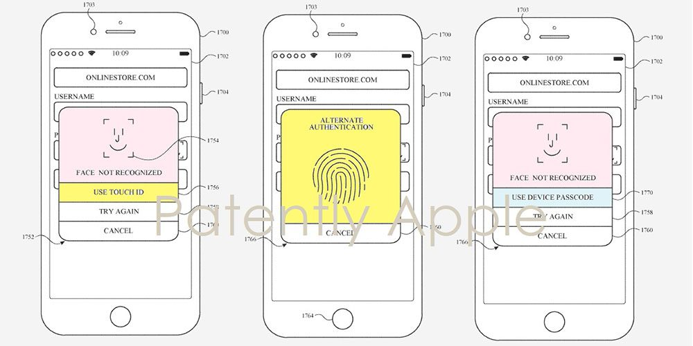 Apple Wins Patent for In-Screen Touch ID and Face ID1