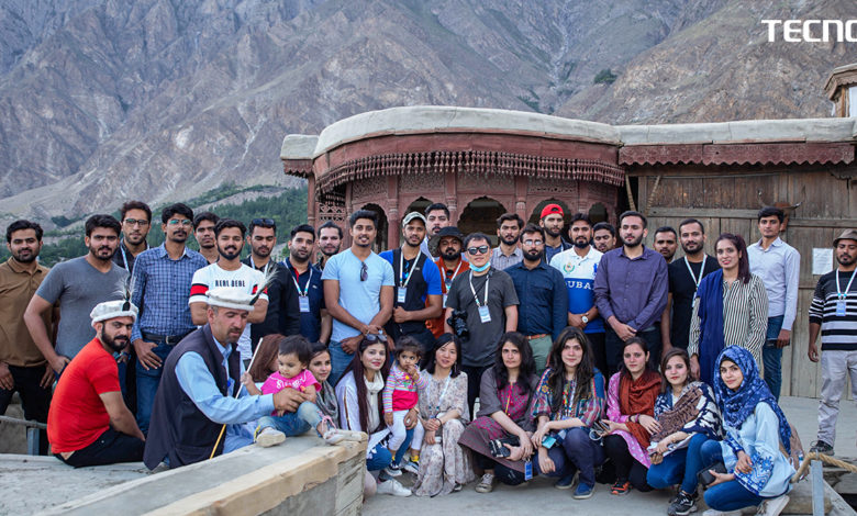 TECNO successfully concludes the Khunjerab Pass Photowalk for Camon 17 Series
