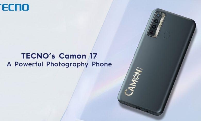 TECNO's Camon 17 - A Powerful Photography Phone