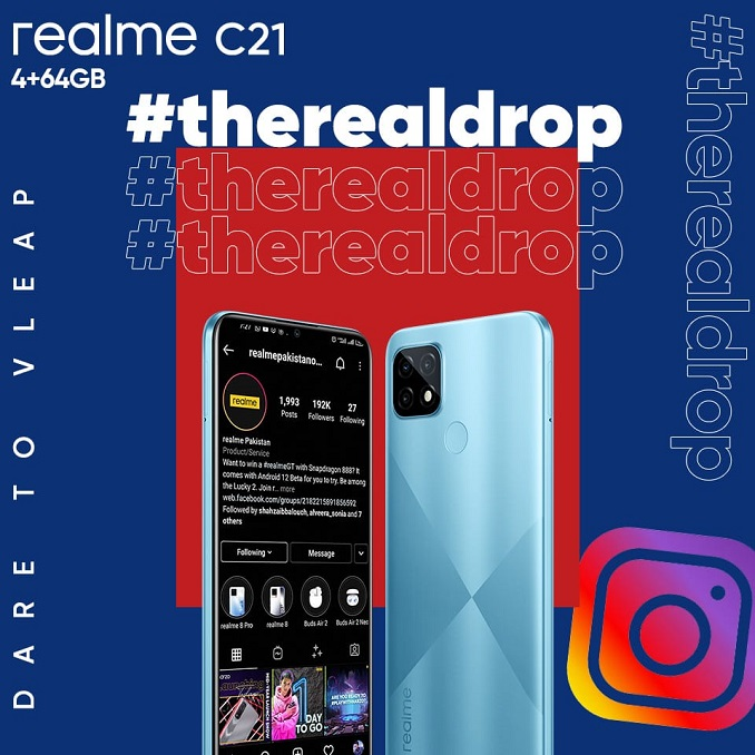The realme C21 comes with an admirable gaming processor MediaTek Helio G35 with HyperEngine Technology.