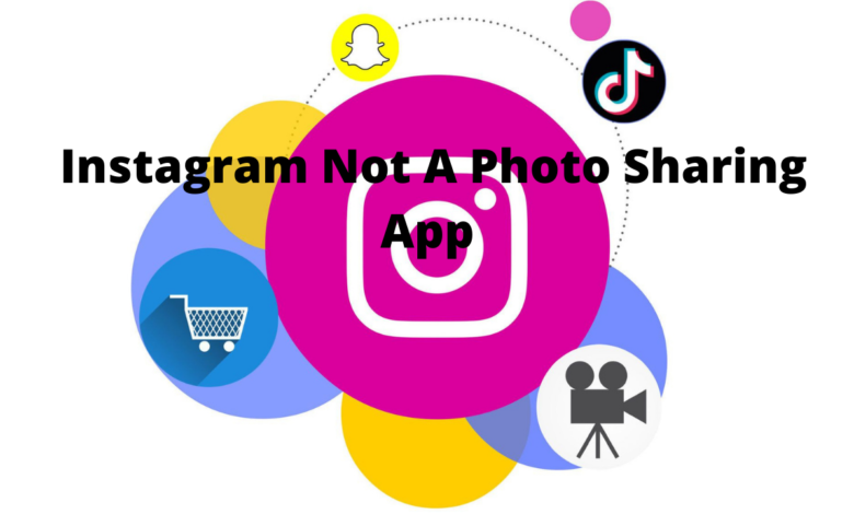 Instagram is no longer a photo sharing app title