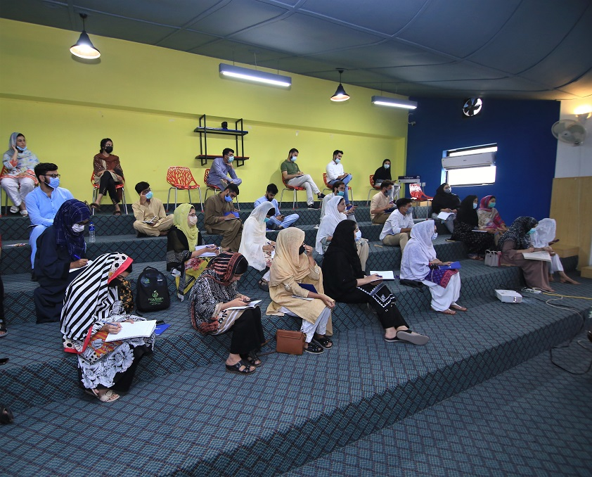 DEMO and KPITB delivered the first SheMeansBusinessTraining Workshop