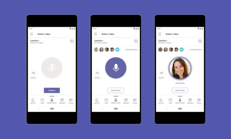 Microsoft Teams will Soon let you use phone as a walkie-talkie