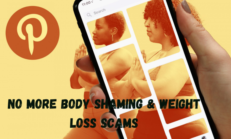 Pinterest Prohibits All Ads with Weight Loss Language and Imagery title
