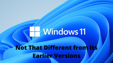 Windows 11 is Not That Different from Its Earlier Versions title