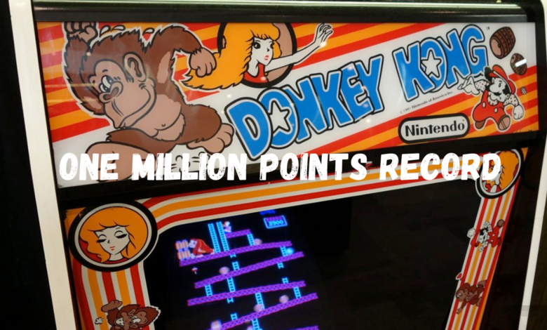 One Million Points Record of the Arcade Game Donkey Kong title