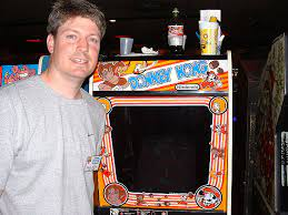 One Million Points Record of the Arcade Game Donkey Kong 1