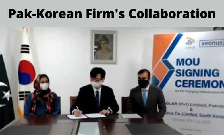 Pak-Korean Firms Collaboration Expands EV Charging Infrastructure