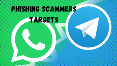 WhatsApp and Telegram among the top list of phishing scammers.title