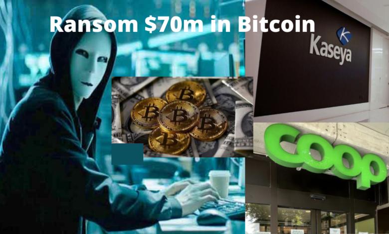 cyber-attack demands $70m in bitcoin title