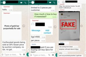 WhatsApp and Telegram among the top list of phishing scammers.2