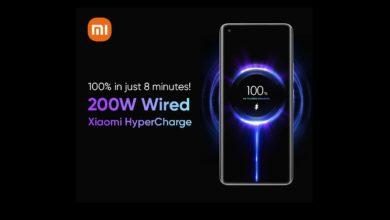 Xiaomi 200W Charging Technology