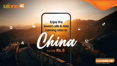 Ufone offers industry-lowest prepaid roaming service in China