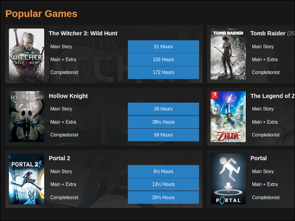 gaming related websites