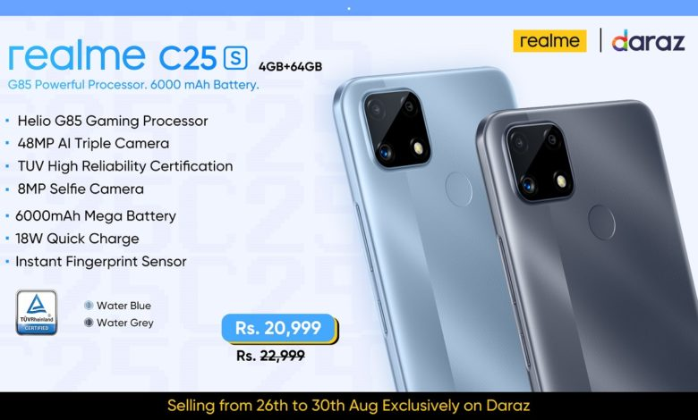 realme Introduces realme C25s Raking-in 3,000 Units in Sales By Midday