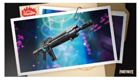 Fortnite 7: IO tech weapon