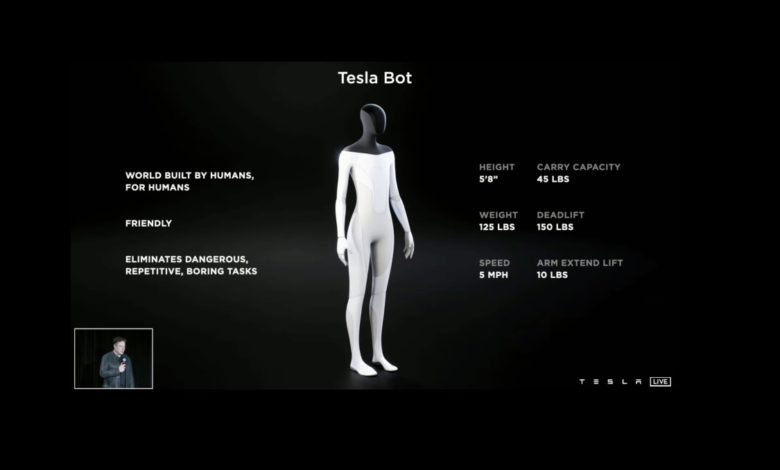 Tesla Android Prototype