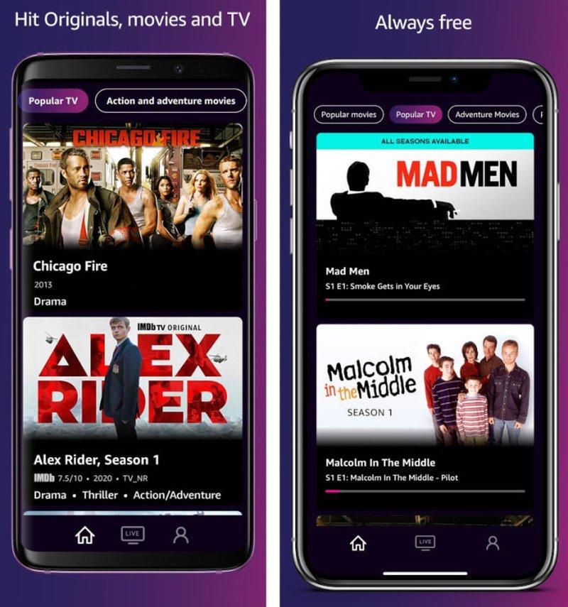 IMDb TV streaming
