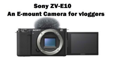 Sony camera for vloggers