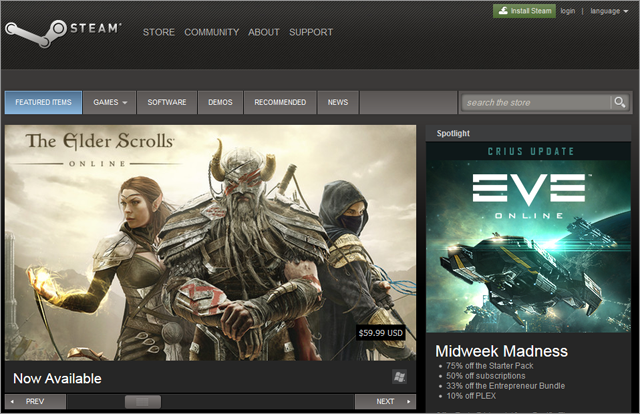 PC game websites