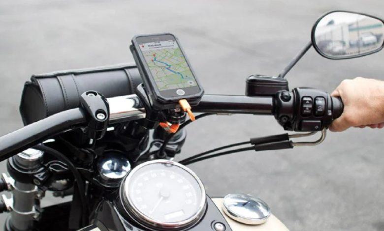 Apple Warning iPhone Motorcycle