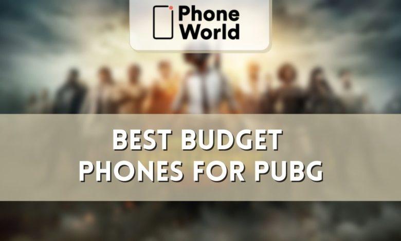 best budget phones for pubg