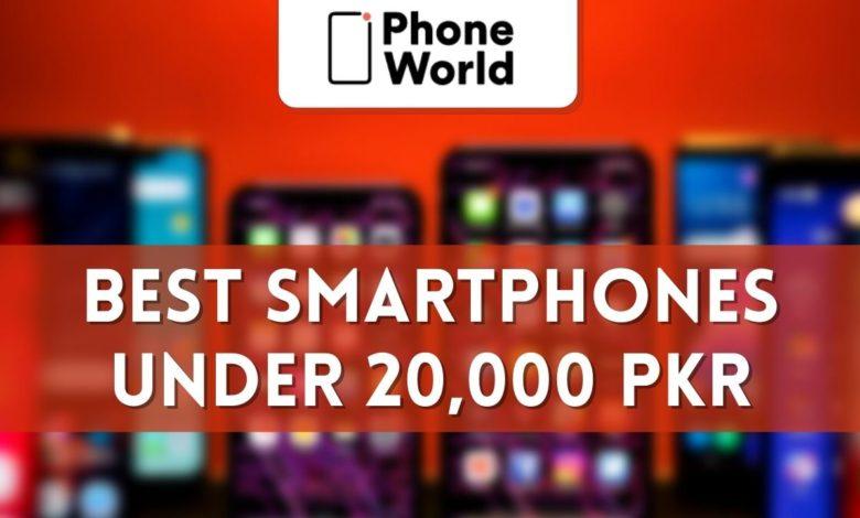 best smartphones under PKR 20000
