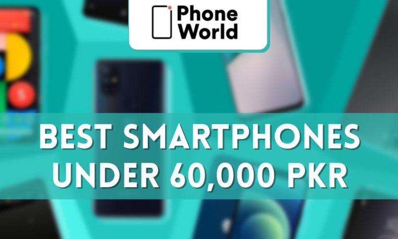 best smartphones under PKR 60k