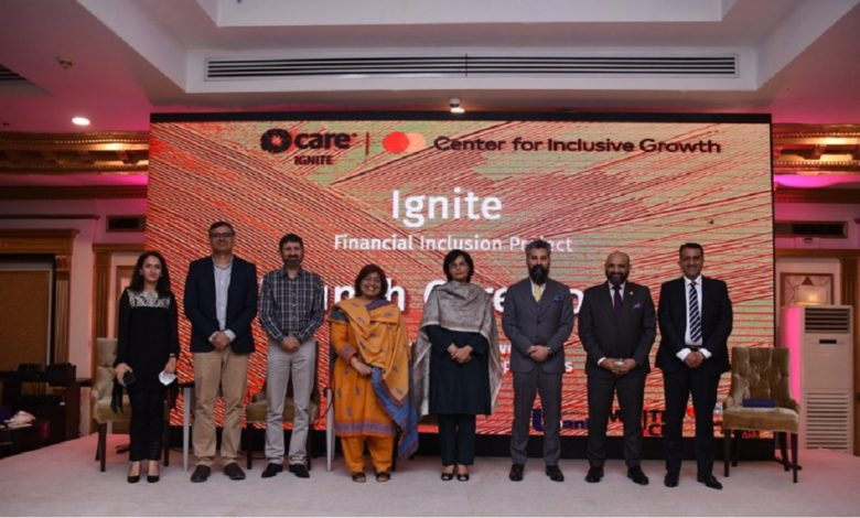 CARE International in Pakistan and Mastercard launch 'Ignite' program to support millions of entrepreneurs