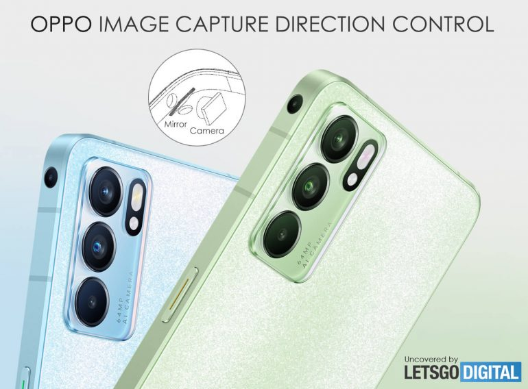 OPPO side-mounted camera