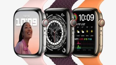 Apple Watch Series 7 icons