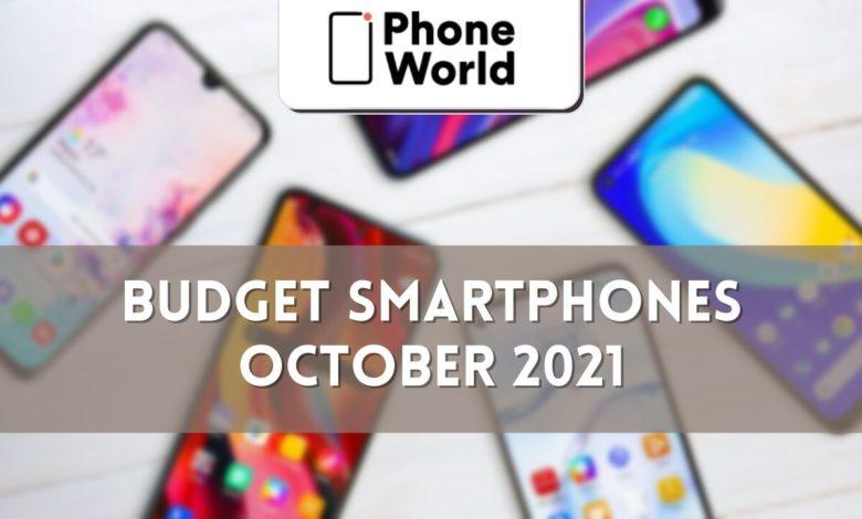 Budget Smartphones October 2021