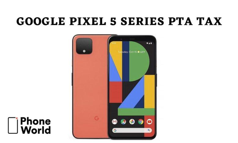 Pixel 5 tax