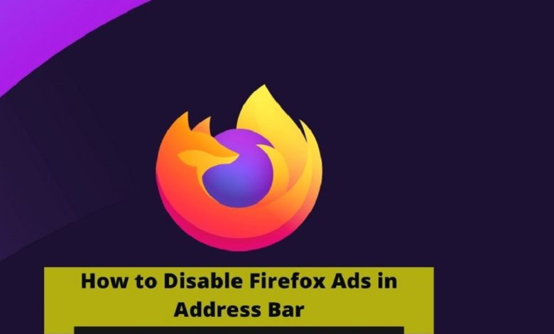 How to disable Firefox ads in address bar?