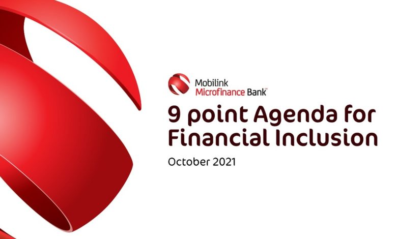 Mobilink Bank puts forth Policy Recommendations to foster Financial Inclusion