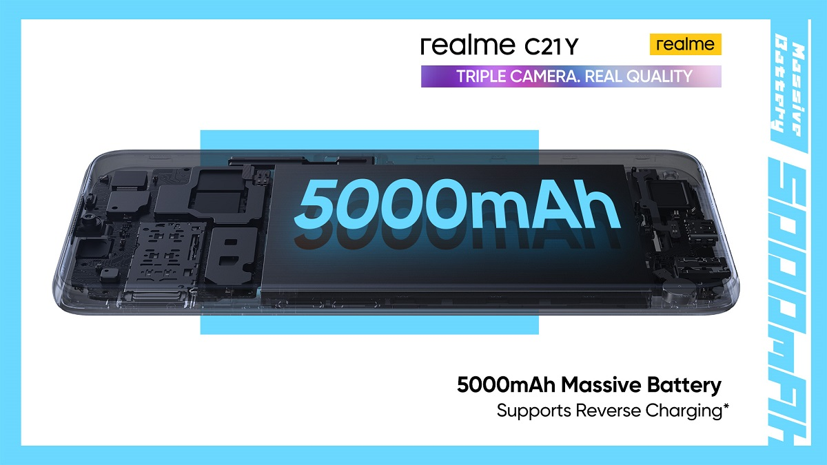 realme C21Y – Truly Reliable Performance You Can Depend On