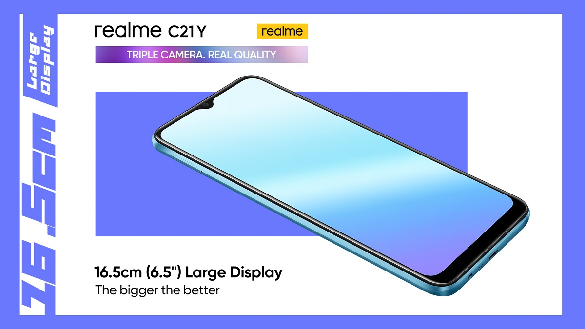 realme C21Y – Another C-Series Powerhouse Set to Enter the Market