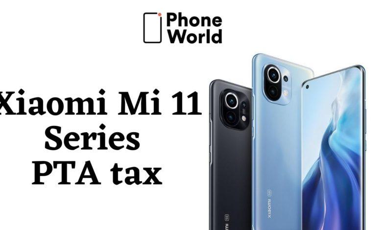 Mi 11 PTA tax